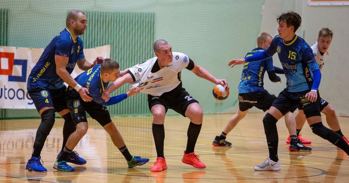 Põlva Serviti alistas Viljandi HC