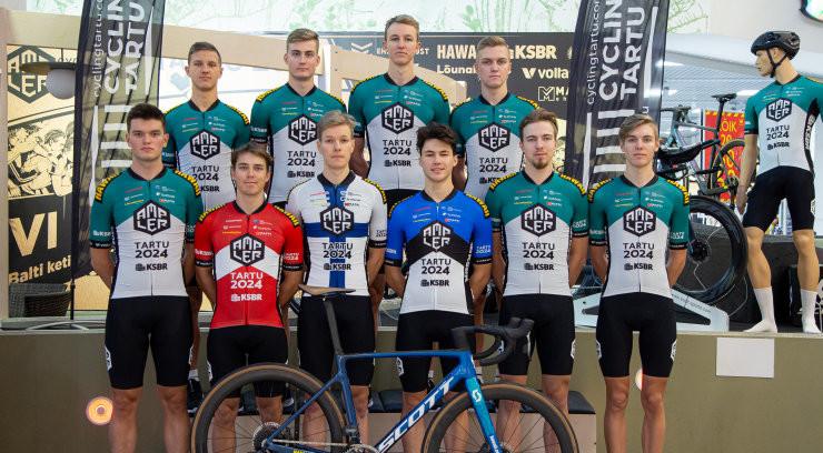 VIDEO   Cycling Tartu rattaklubi esitles uut nimisponsorit ja 2021. aasta meeskonda