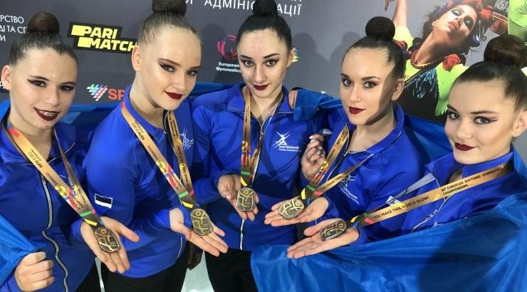 VIDEO | Ajalooline hetk: Eesti rühmkava koondis võitis iluvõimlemise EM-il pronksmedali