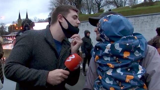 Saatejuht Taavi Libe köhis maskivastasele näkku: tahtsin näha, kas ta jääb oma tõekspidamistele kindlaks