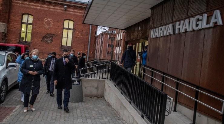 Narva arstid tahaks karmimaid piiranguid: üheaegselt riiki lahti hoida ja koroonaga võidelda pole enam võimalik