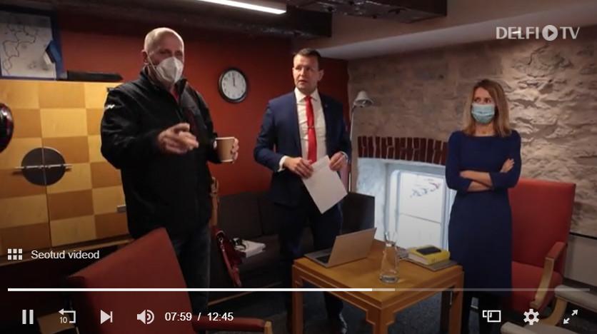 Opositsionäärid hõivasid Poolametsa kabineti