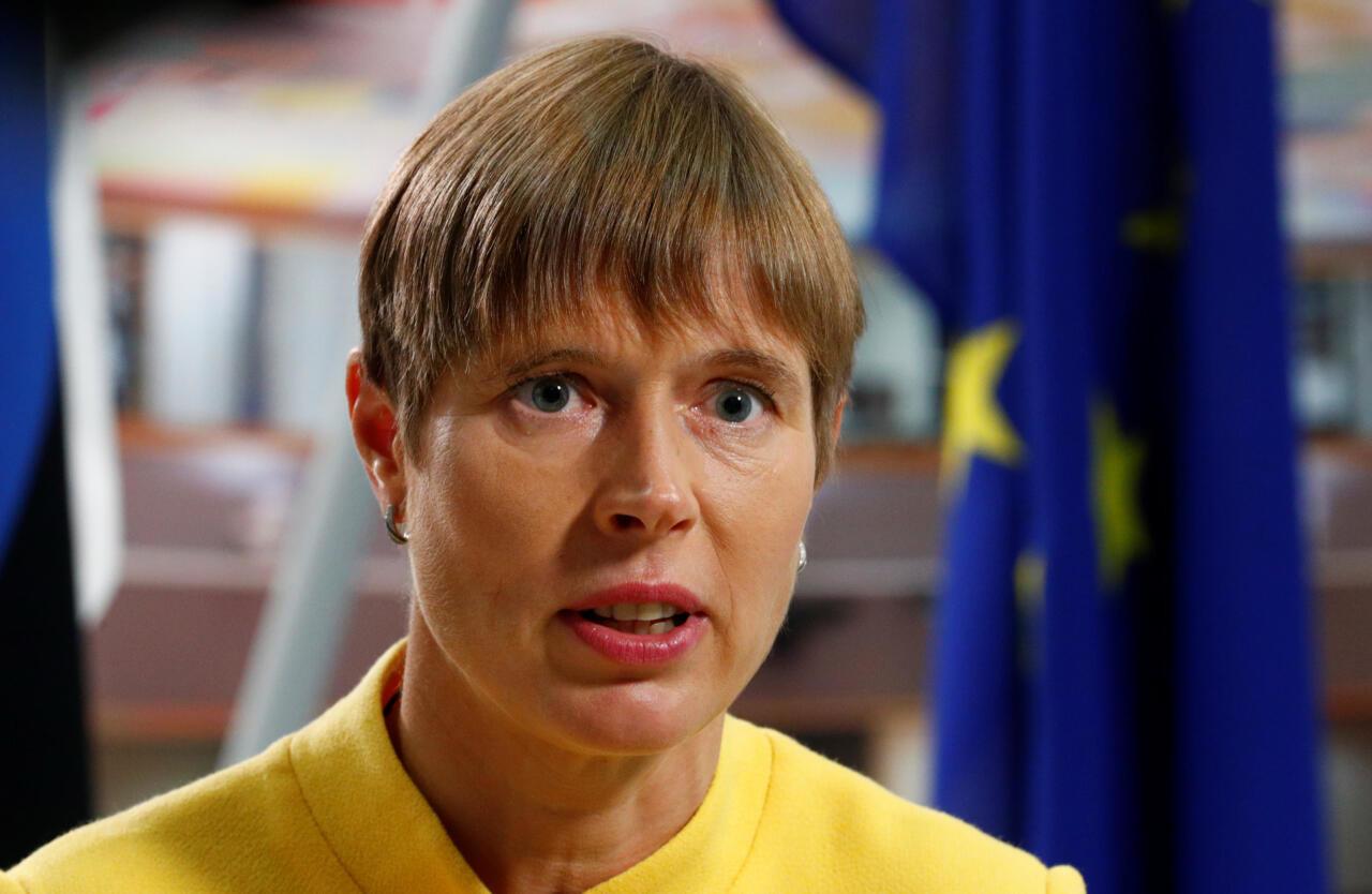 Kersti Kaljulaidi koroonaaegne suusasereis Šveitsi jõudis välismeediasse
