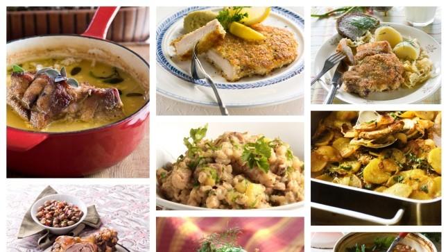 10 RETSEPTI TALIHARJAPÄEVAKS!  Valmistame mehiseid suppe ja pajaroogi sealihast, kaunviljadest ja tangudest
