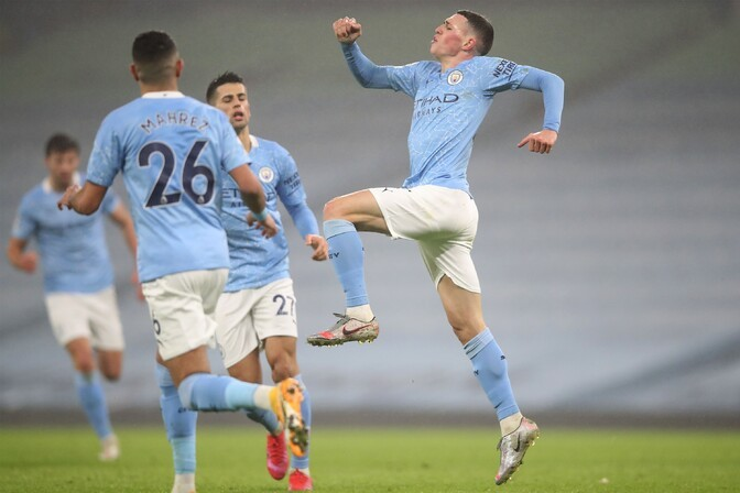 20-aastane Foden triivis Manchester City võidule