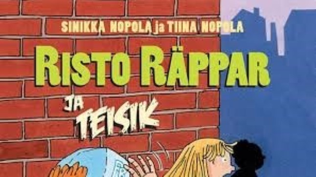 Suri Risto Räppari lugude autor Sinikka Nopola