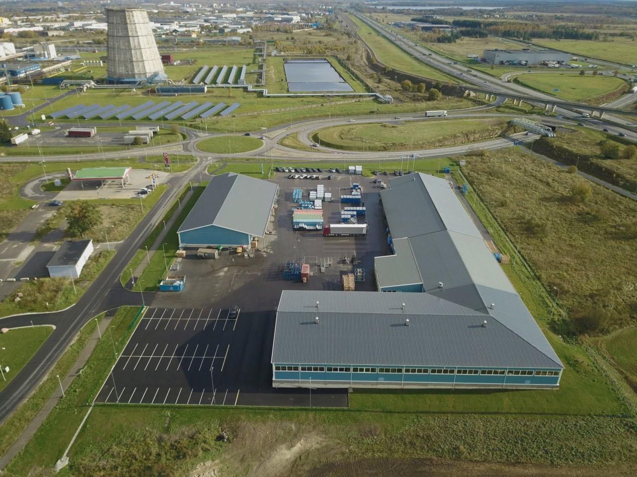 Valmisid ASi Lindab tootmis- ja logistikakompleksi IV, V ja IV ehitusjärgu hooned ja rajatised
