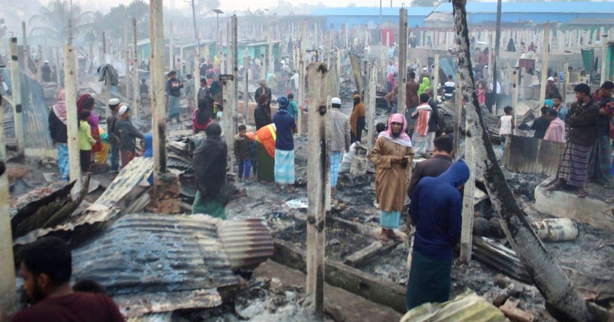 ÜRO: tuhandete rohingjade kodud langesid tuleroaks