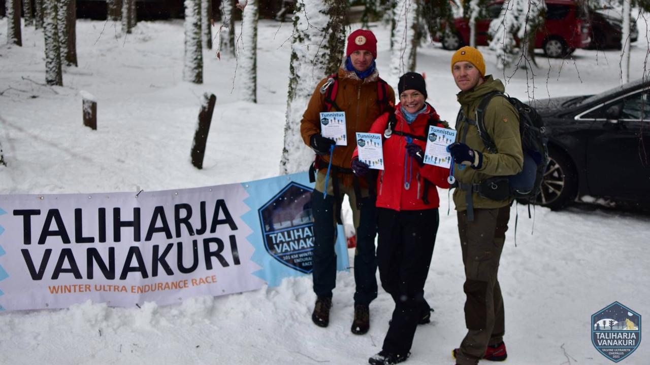 Eesti naine matkas ööpäevaga üle saja kilomeetri, kõige raskem oli mõni tund enne koitu