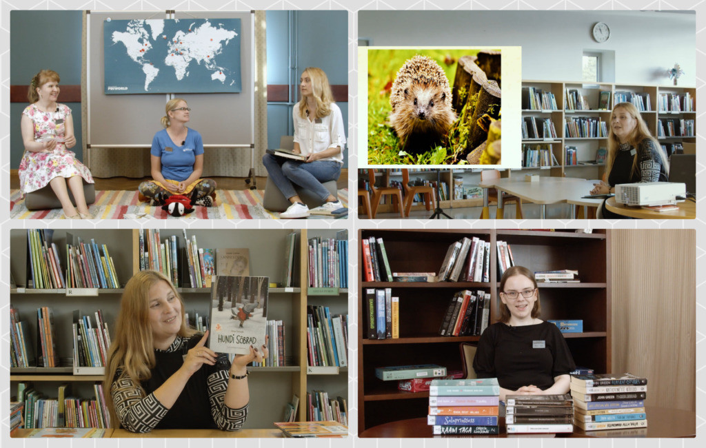 Raamatukogutunnid teevad õppimise põnevamaks