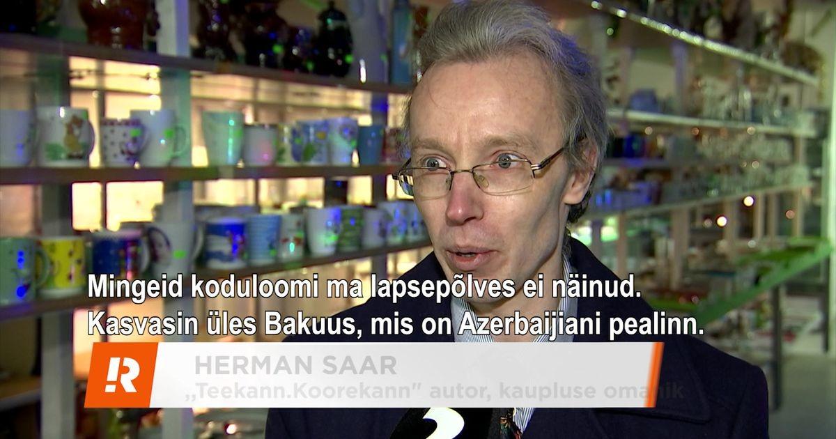 Reporter: Aasta meelelahutaja on Azerbaidžaanist Hermann Saar