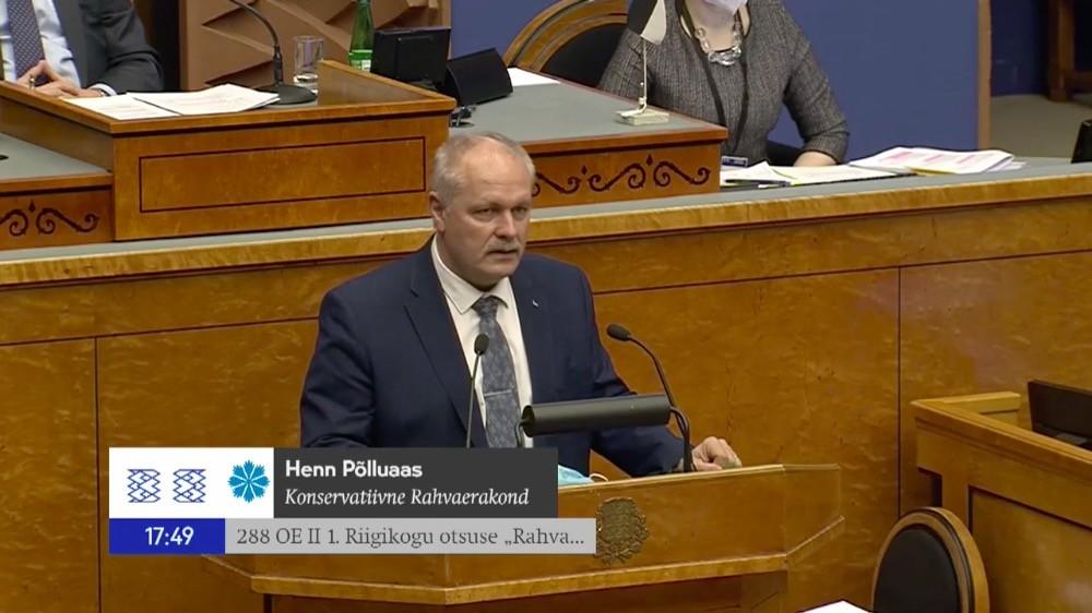 Henn Põlluaas: eile oli must päev Eesti demokraatiale