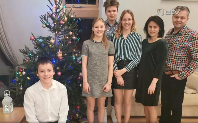 Kuueliikmeline perekond veetis detsembri koroonaviirusega võideldes