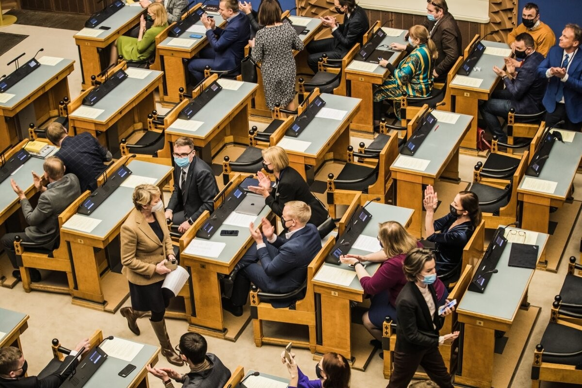 Imre Sooäär: riigikogu raius Gordioni sõlme läbi rahvahääletusega