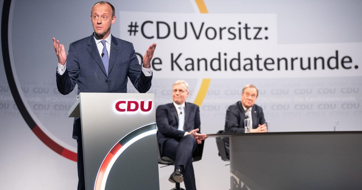 CDU valib Merkeli kursi ja Merzi uusvana suuna vahel