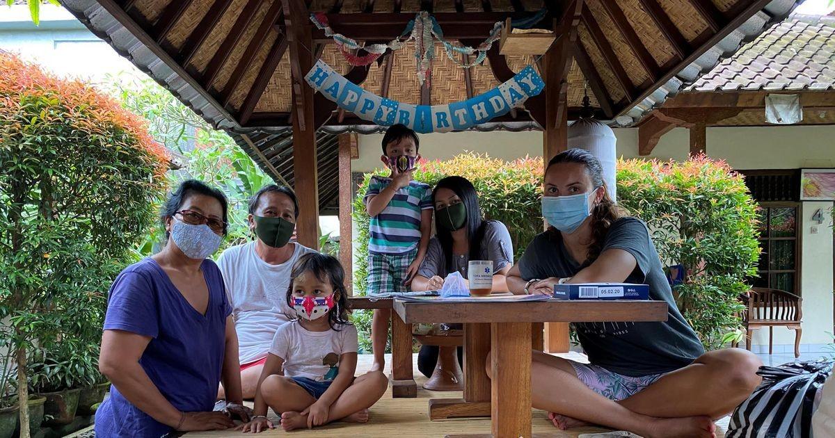 Valga vallavanem veetis pühad Bali saarel