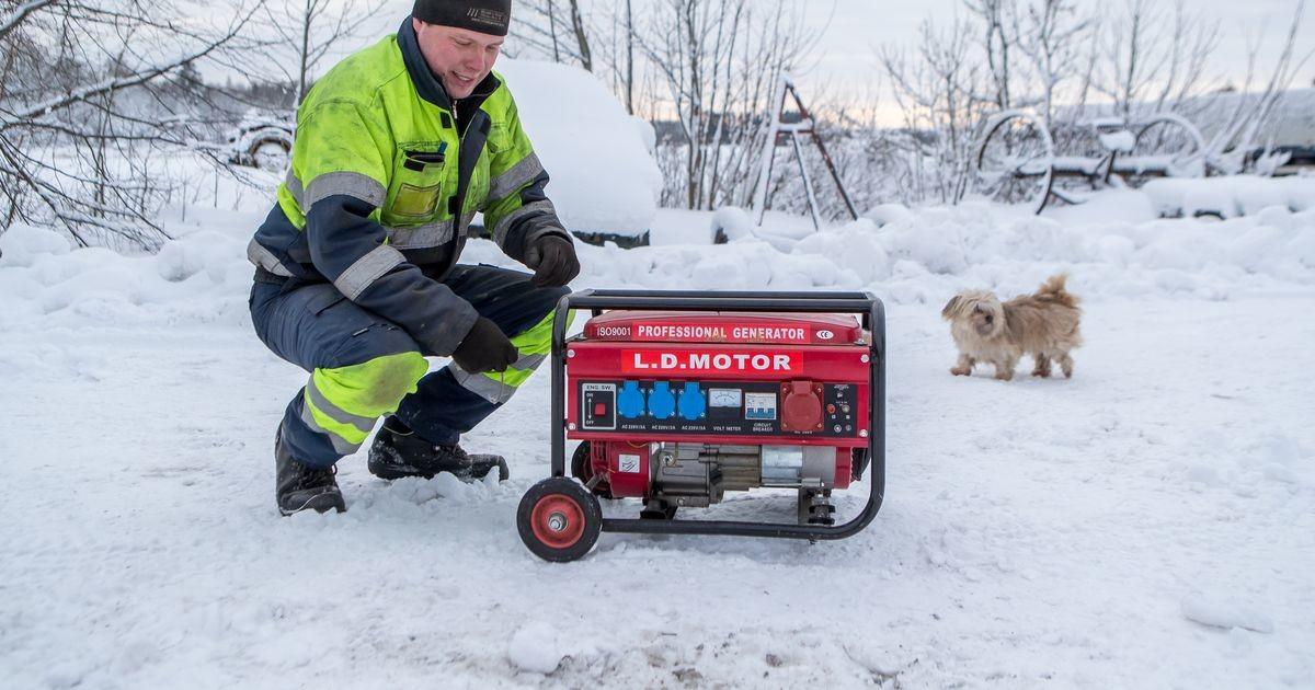 Elektrilevi maadleb lumest tingitud katkestustega