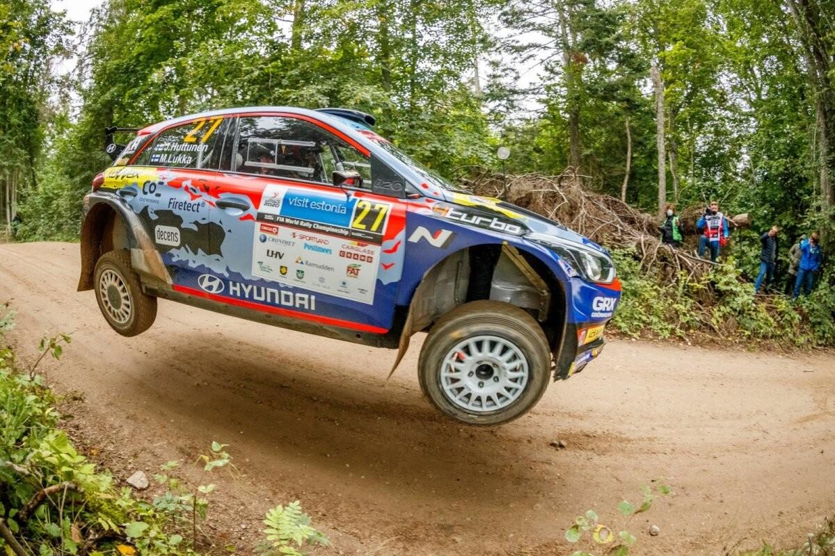 Soome ralliäss loodab teenida võimalust Hyundai WRC masinaga: natuke tüütu, et üks Norra kutt mööda läks