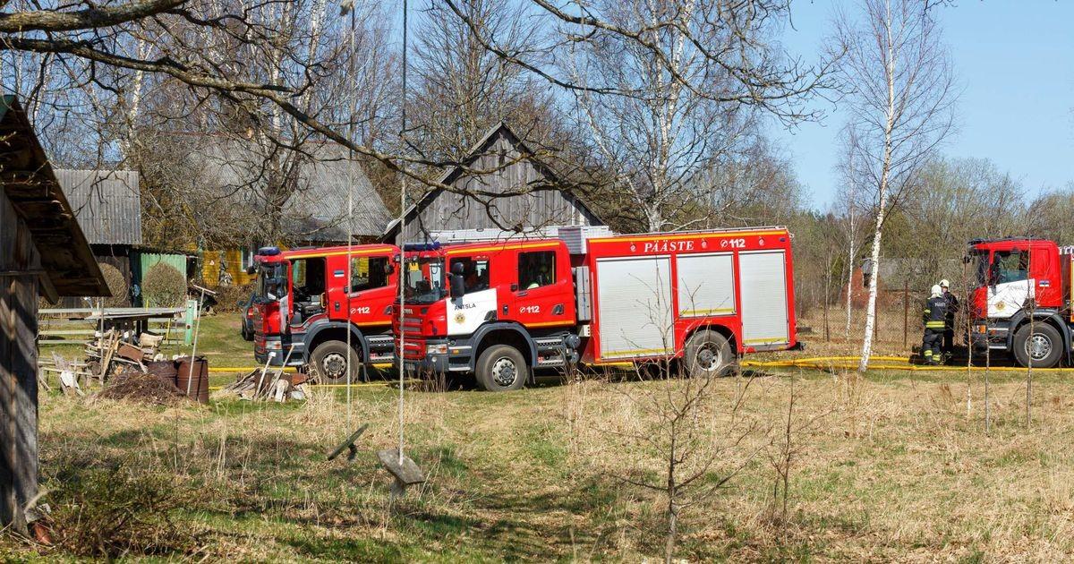 Päästjad kustutavad keskpolügoonil tulekahju