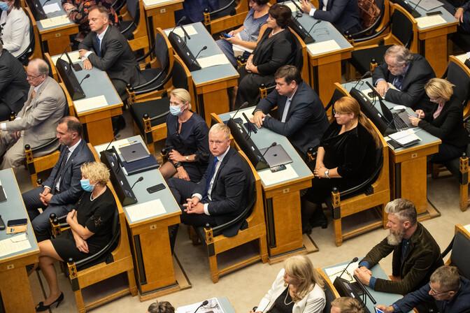 Erakondade reitingud: Reformierakonna toetus püsib langustrendis