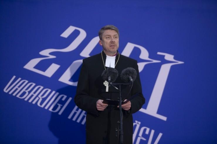 FOTOD! Peapiiskop Viilma: Eesti lipu pühade värvide alla võiks koonduda kogu Eesti rahvas