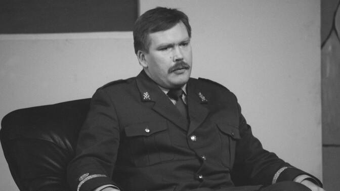 Suri endine kaitseväe juhataja Johannes Kert