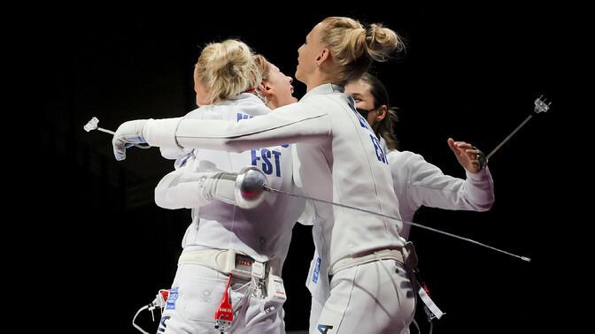 Eesti epeenaiskond võitleb pääsu eest olümpiafinaali