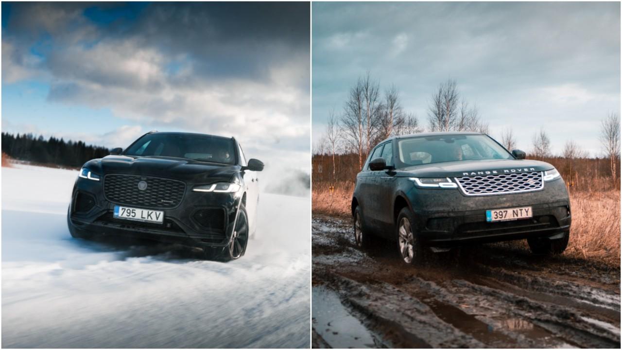 Brittide duellis Jaguar F-Pace ja Range Rover Velar: samast perest, aga kumba valida?