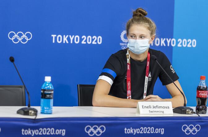 14-aastane Jefimova: tahaks isikliku rekordi ujuda ja poolfinaali jõuda