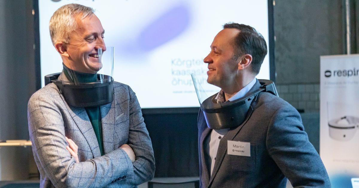 Riik ostab koolidele Eesti firma kaelaskantavad õhupuhastid