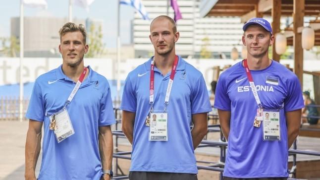 OLÜMPIABLOGI   Võistlustulle asuvad Eesti kümnevõistlejad