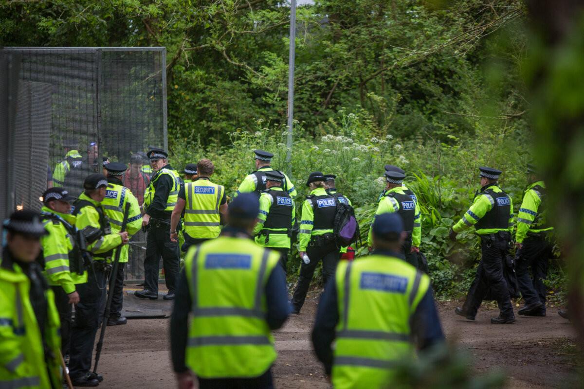VIDEO   G7 tippkohtumise julgeolek Cornwallis: Silja Europa, 6500 politseinikku ja 400 Bideni ihukaitsjat
