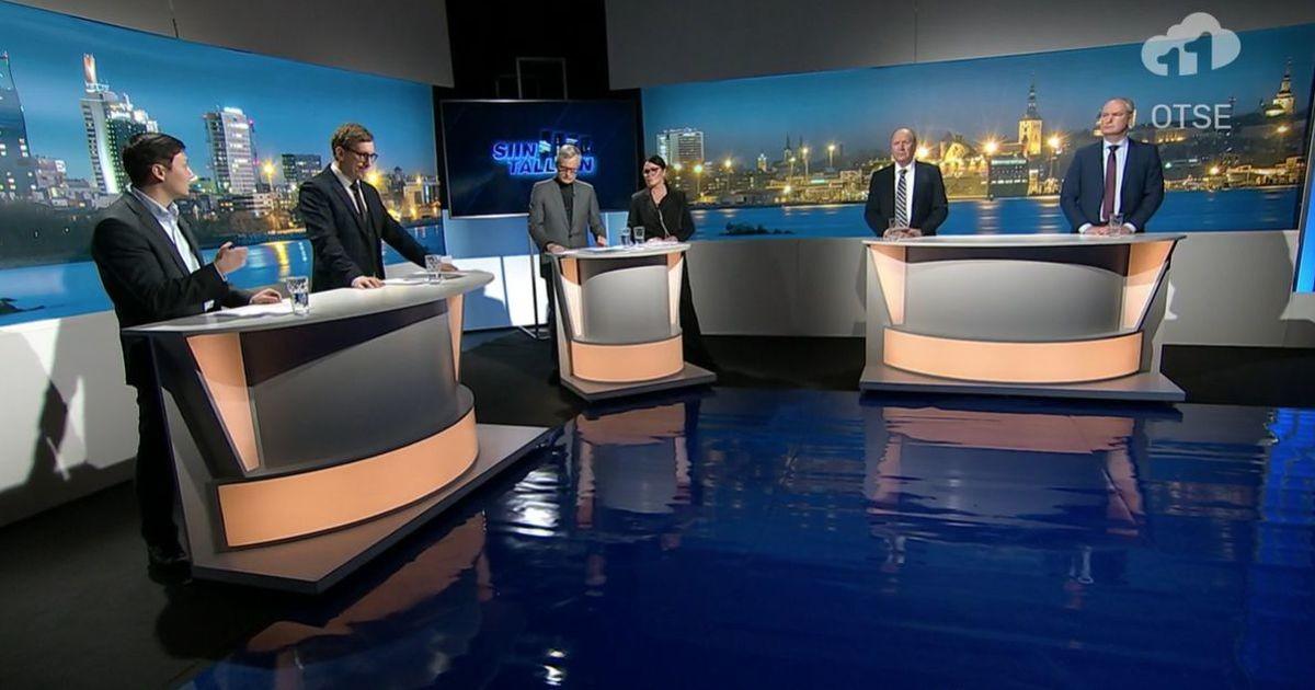Tallinna linnapeakandidaadid arutasid koroonakriisi, eestikeelse hariduse ja majanduse teemadel