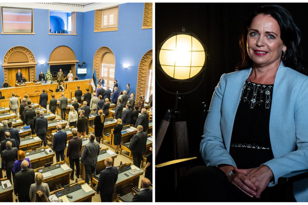 Kaheksa vaktsineerimata riigikogu töötajat ja minister Anneli Ott on eneseisolatsioonis