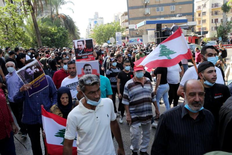 Beirutis hukkus meeleavaldusel sadamaplahvatust uuriva kohtuniku vastu kuus inimest