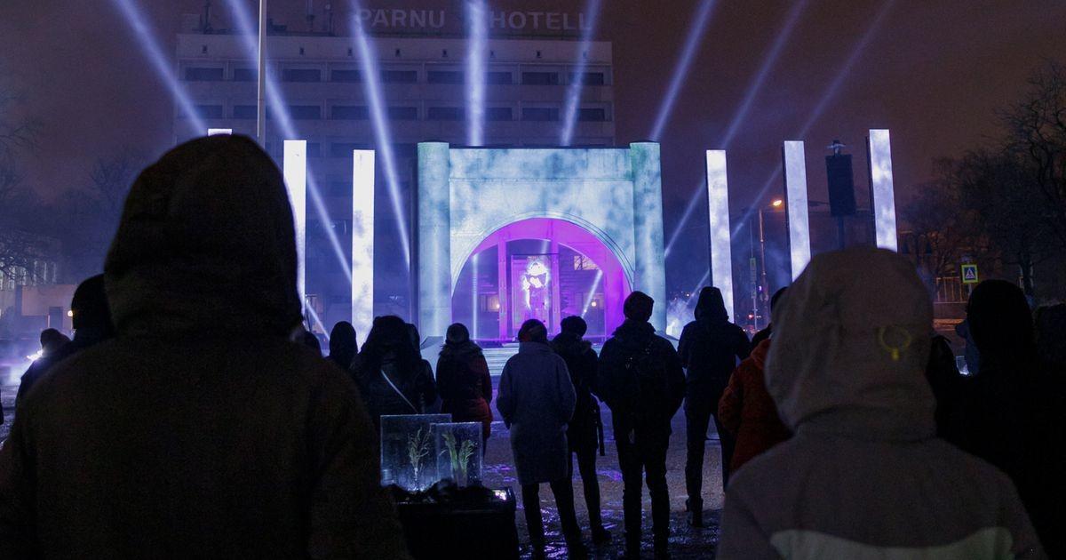Iseseisvuse väljakul etendus vaatemäng Eesti inimese olemusest