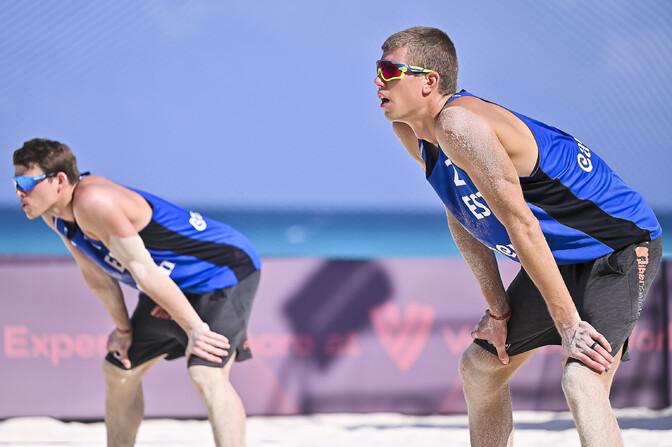 Eesti rannavõrkpallikoondised alustavad Tokyo olümpiapileti jahti