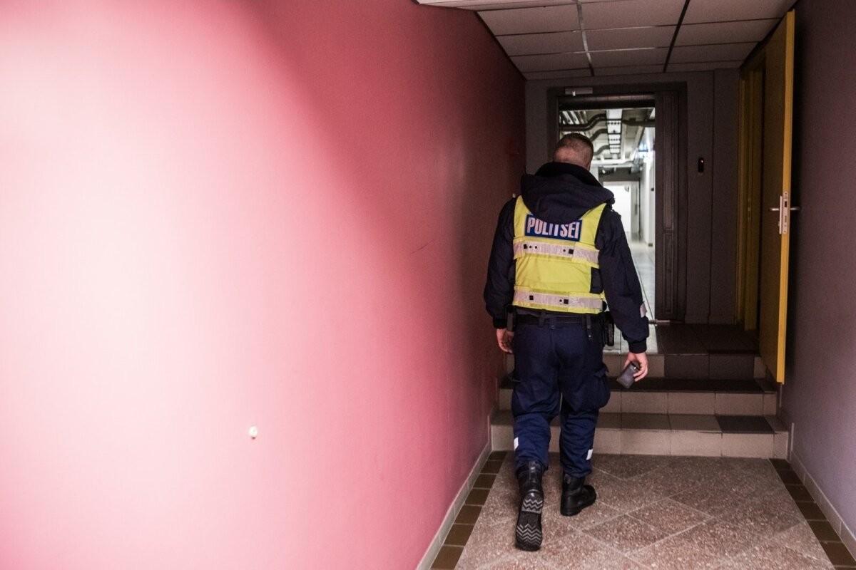 Viljandimaa koolis hakkas õpilane noa konfiskeerimisel personalile vastu, olukorra lahendas politsei