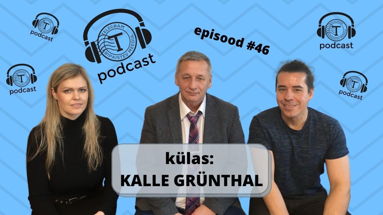 Telegrami Podcast #46: pandeemias kahtlemine on jõudnud Riigikokku (külas Kalle Grünthal)