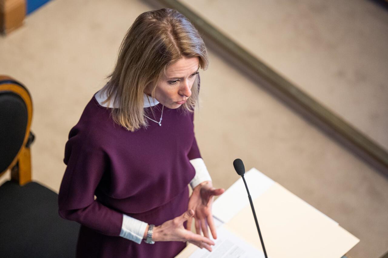 Poliitilise avalduse asemel algatas peaminister Riigikogus ideekorje sellest, kuidas riiki kriisis juhtida