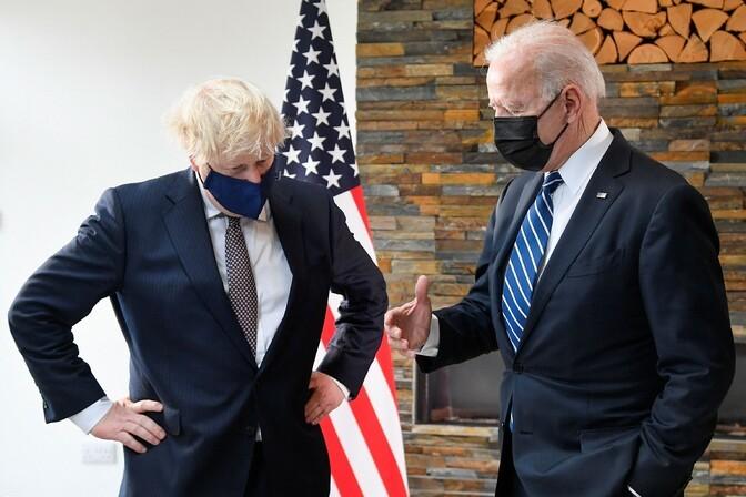 Joe Biden kohtus Boris Johnsoniga