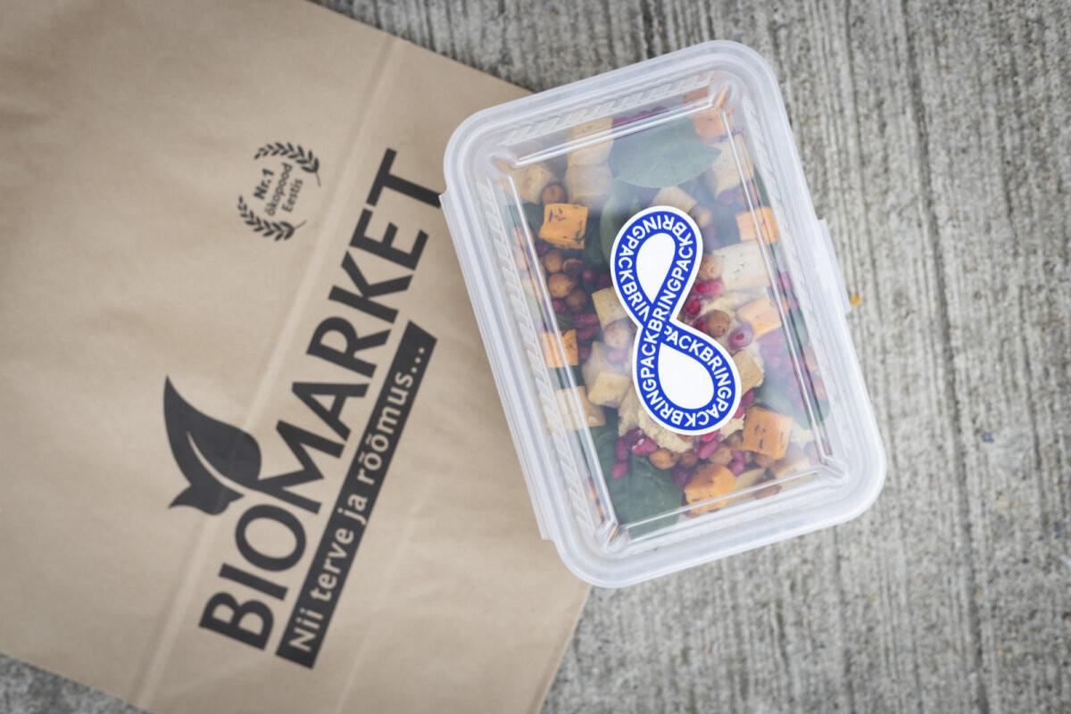 Balti Jaama Turul läks käima korduvkasutatavate pakendite süsteem ja toitu saab nüüd prügivabalt kaasa osta