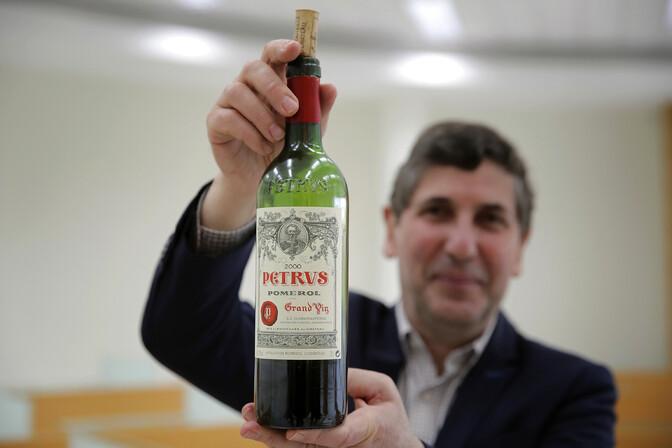 Briti oksjonimaja müüb pudeli kosmoses laagerdunud veini