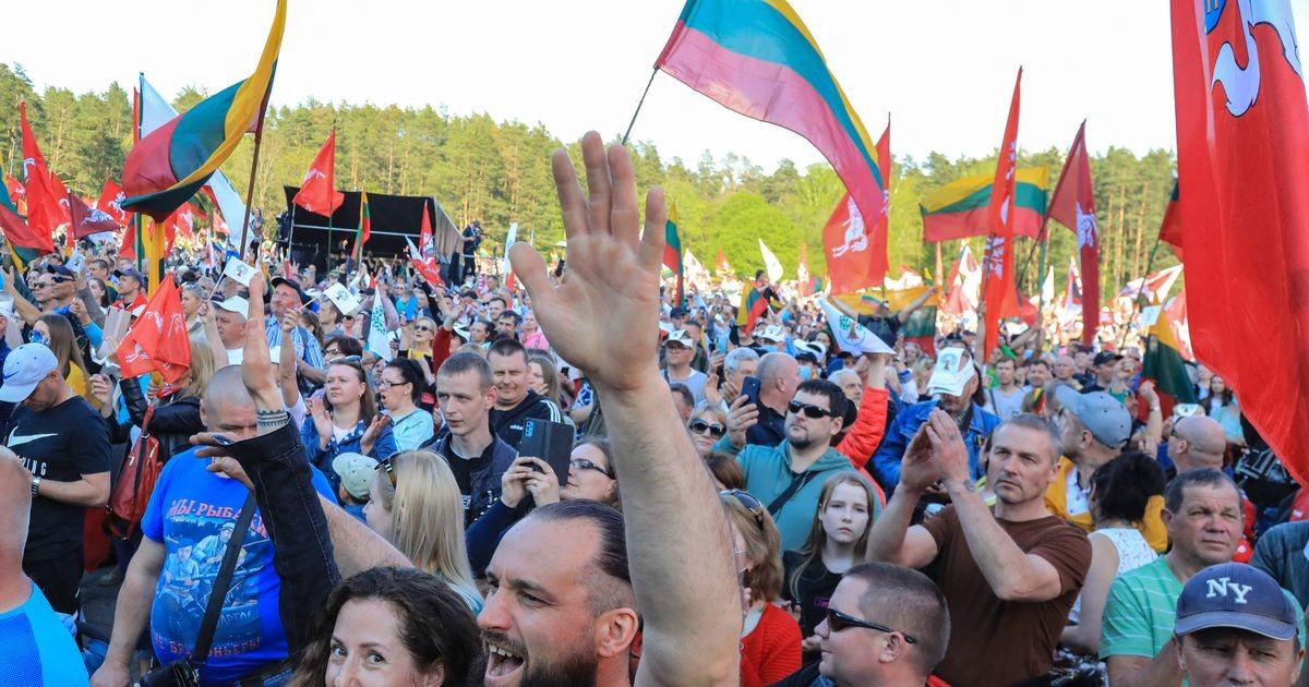 Leedu pealinnas protestisid tuhanded samasooliste liitude vastu