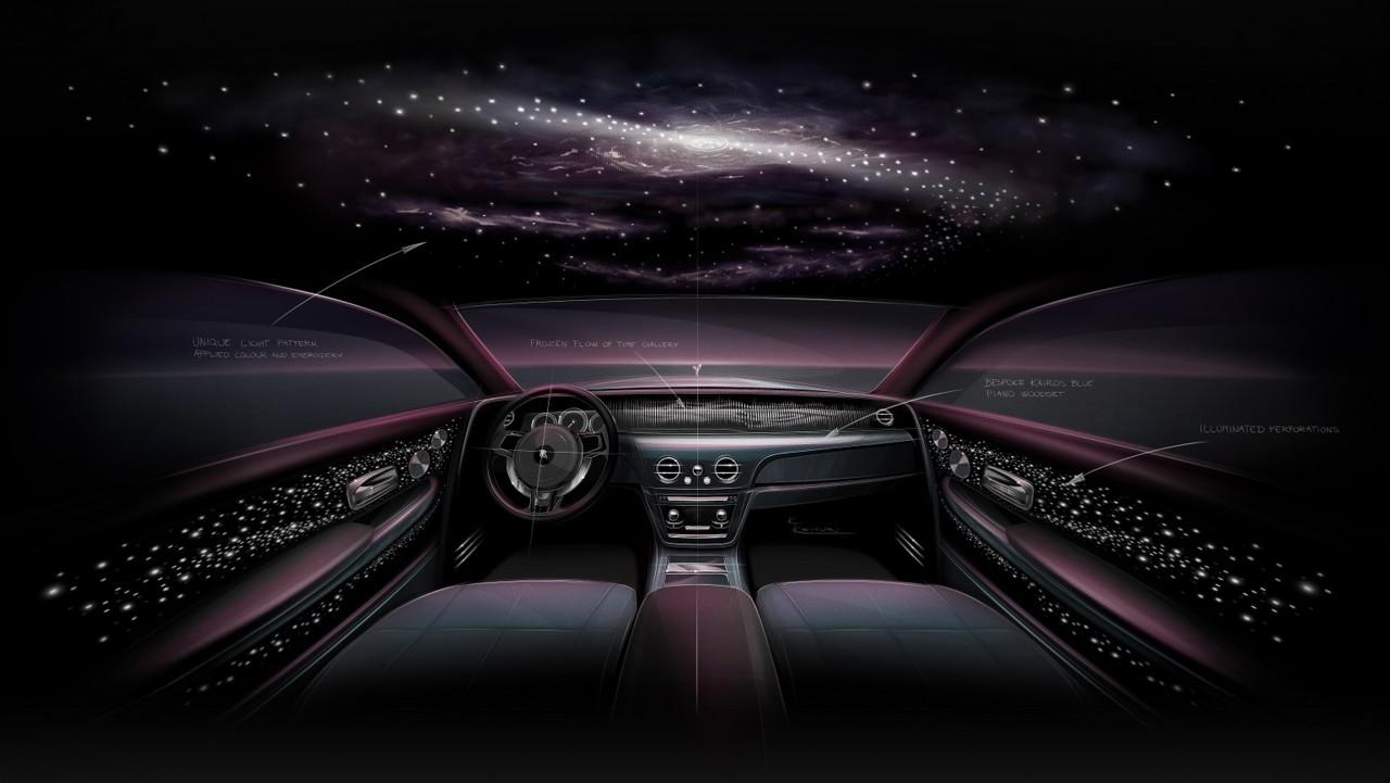 Rolls-Royce'i järjekordne erimudel Phantom Tempus on pühendatud ajale