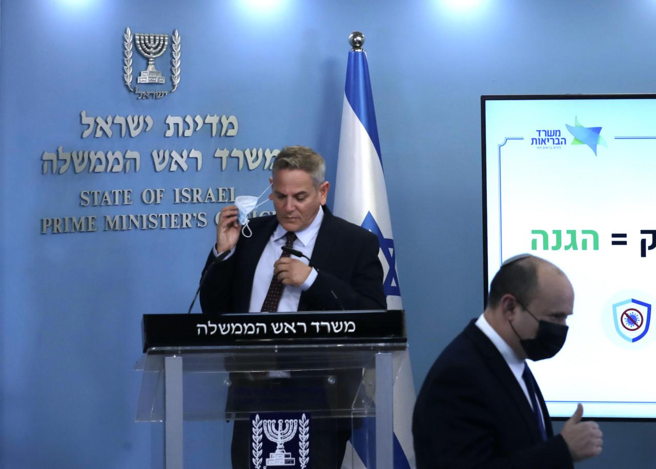 Iisraeli tervishoiuminister: COVID-passidel ei ole mingit meditsiinilist põhjendatust