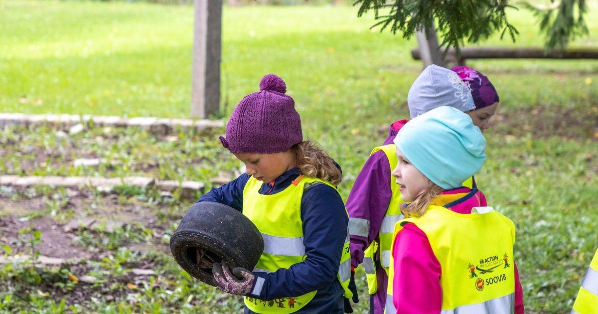 Lapsed teevad kodukoha puhtaks