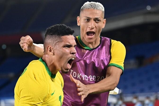 Brasiilia jalgpallikoondis sai olümpiaturniiril jagu Saksamaast
