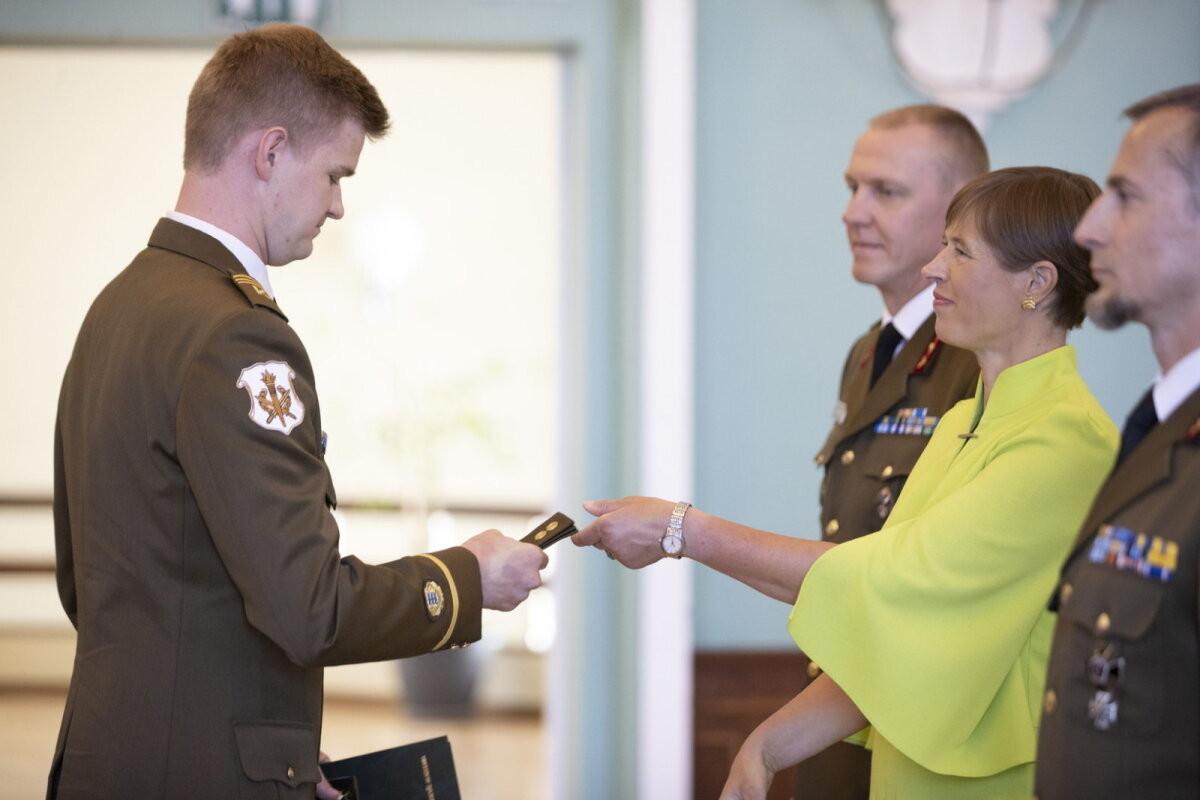 President Kersti Kaljulaid: kaitseväe hea väljaõpe on orkestrist ja tseremooniatest olulisem