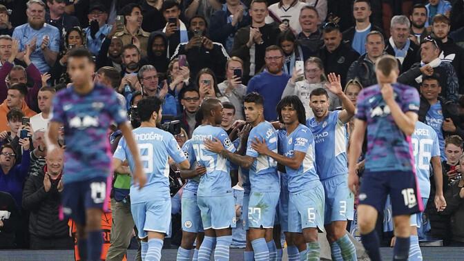 Meistrite liiga: Man City lõi kuus, Ajax viis ja Liverpool kolm väravat
